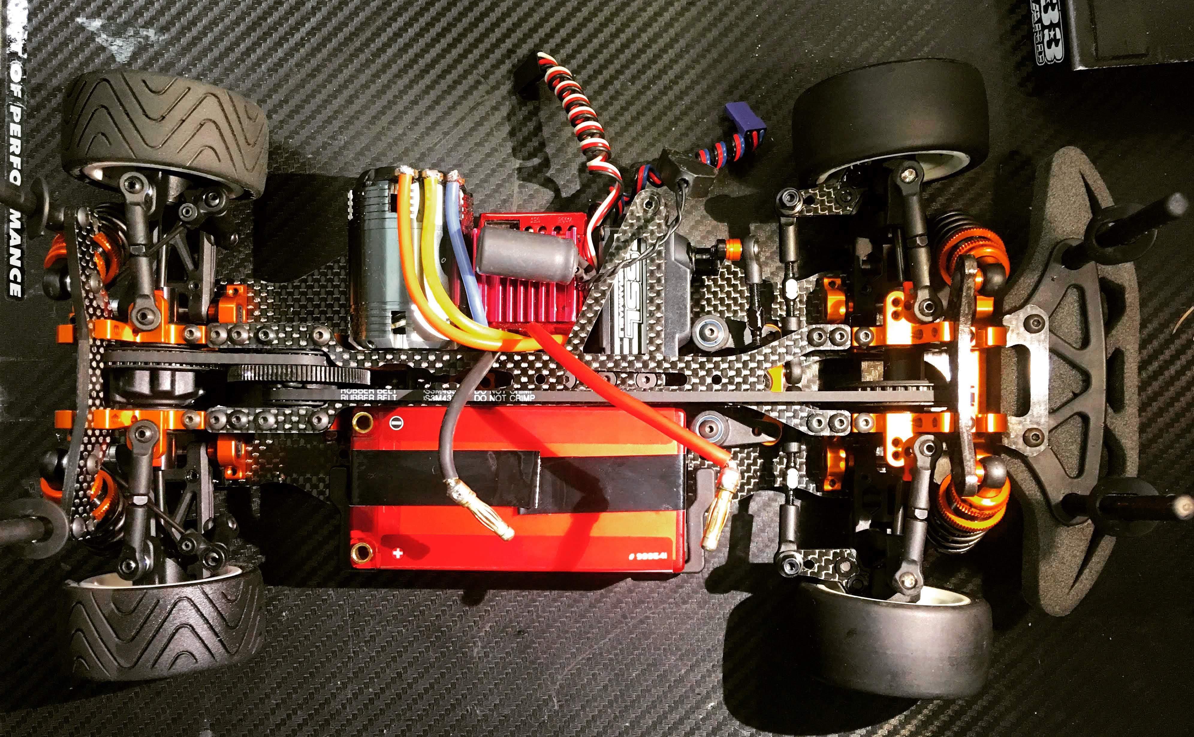 RaceOpt Xray T4 Mini Conversion Kit