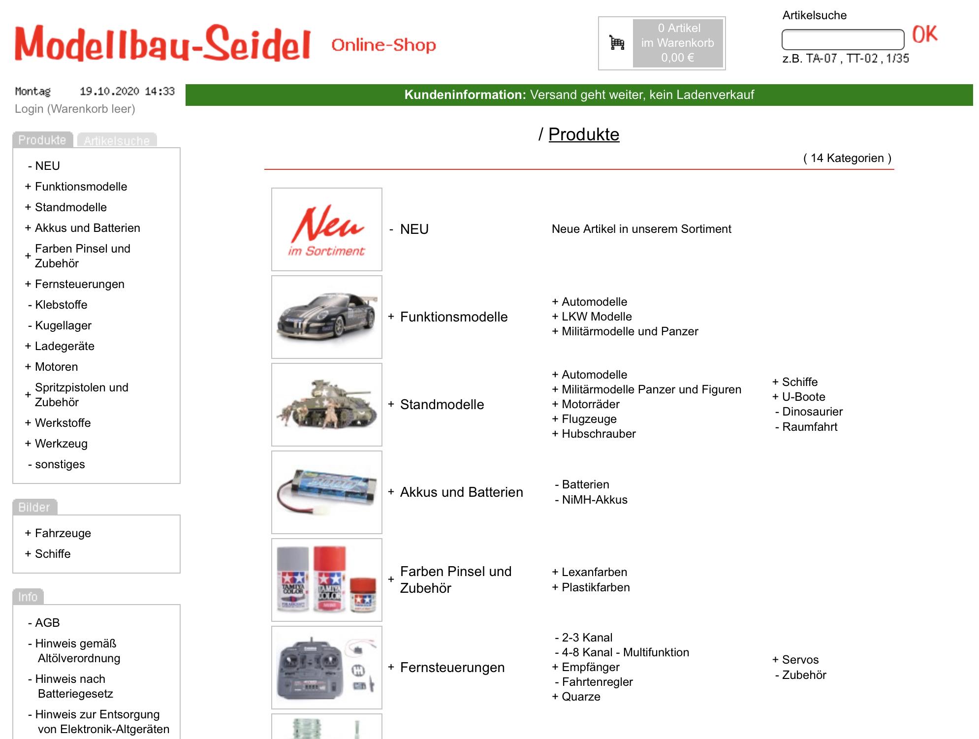 Modellbau Seidel
